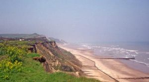 Things to do in Norfolk - Overstrand Beach and cliff top walk