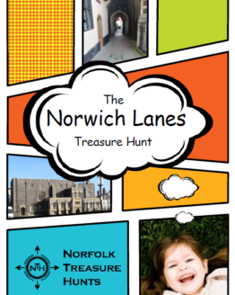 norwich lanes treasure hunt cover